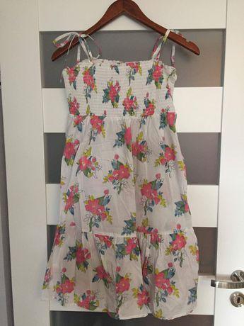 Sukienka letnia w kwiatki, M