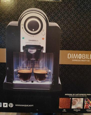 Máquina café versátil com pouco uso : cápsulas, pó ou pastilha