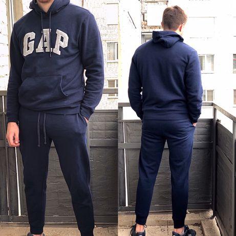 Оригинальный мужской спортивный костюм GAP на флисе