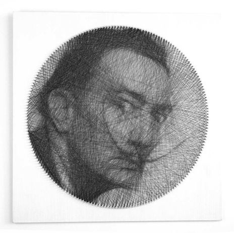Retratos (string art)