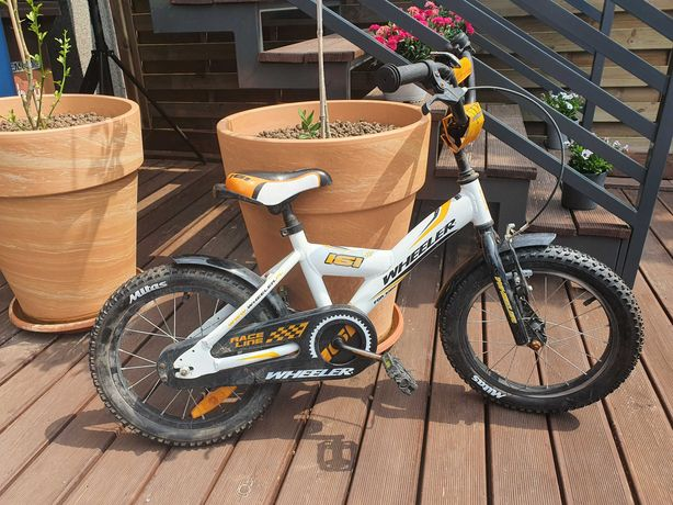 Rowerek dla dziecka WHEELER 161 - bez bocznych kółek