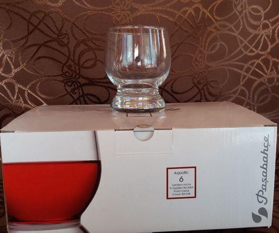 Продам набор низких стаканов Pasabahce Aquatic 6 шт (225мл), новый