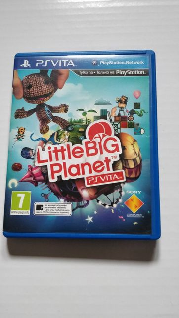 Gra na PSvita Little big planet, wersja PL