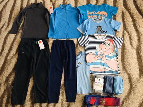 Paka ubrań dla chłopca 122 Cool Club, Gatta, spodnie, golf