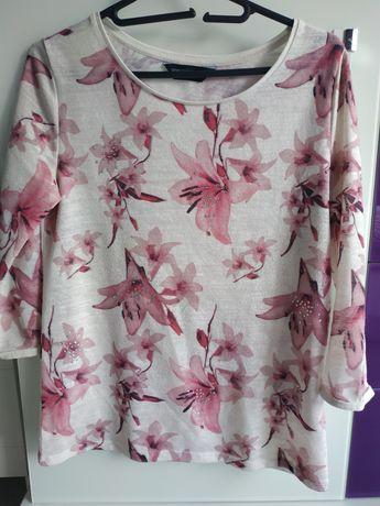 Dorothy Perkins bluzka w kwiaty rozmiar 38 M