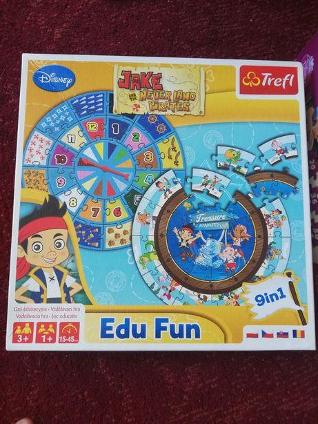 Trefl edu  puzzle do nauki liczenia Jake z Nibylandii