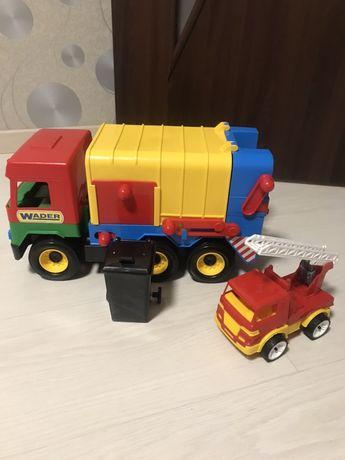 Wader мусоровоз мусорка + подарок вадер