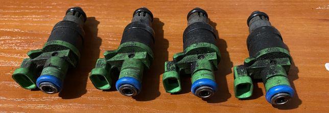 Wtryskiwacze zielone z Saaba Aero 9-3 2.0T