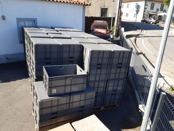 Caixas de arrumação reforçadas Empilháveis