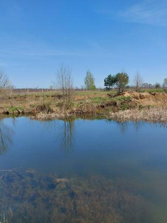 Продам участок 77сот с собственным озером -мечта любителей отдыха.