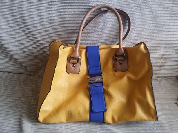 Asos duża żółta torba