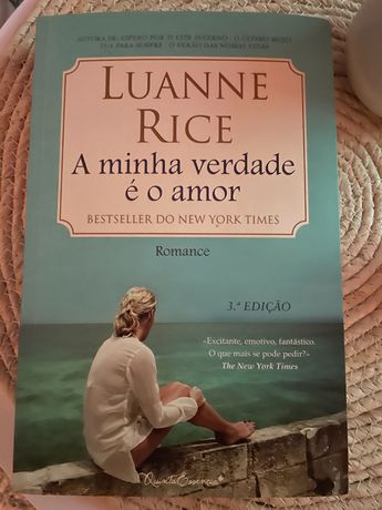 """Livro """" A minha verade é o amor"""" de Luanne Rich"""