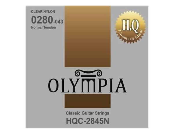 Struny do gitary klasycznej Olympia HQC 2845N