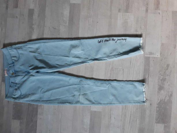 Spodnie  jeans 164