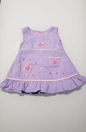 Sukienka, święta, urodziny 62 cm