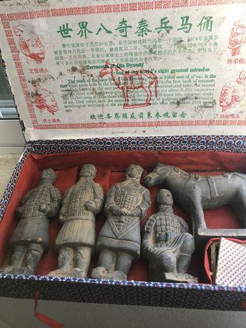 Esculturas chinesa de terracota