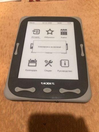 Электронная книга Texet tb-566