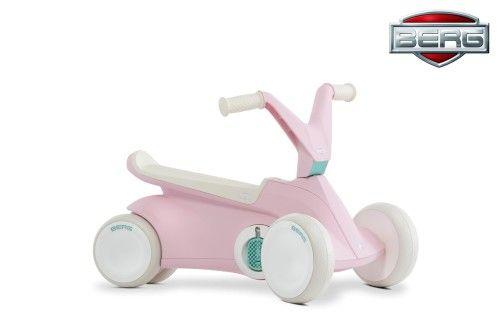 BERG Gokart GO2 Jeździk na Pedały 2w1 Różowy