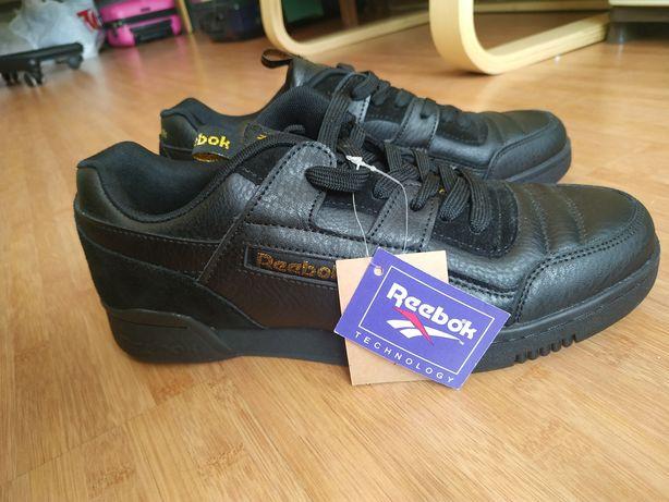 Reebok. Черные кроссовки мужские новые 43