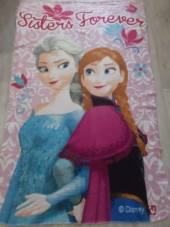 Флисовый плед Disney Frozen. 150/100