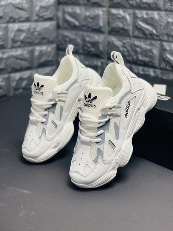 НОВИНКА Adidas Yeezy 350 V2 White Белые Адидас Изи Буст Ези кроссовки
