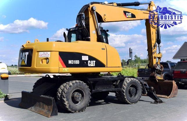 Колесный экскаватор CAT 318 D 2011 года