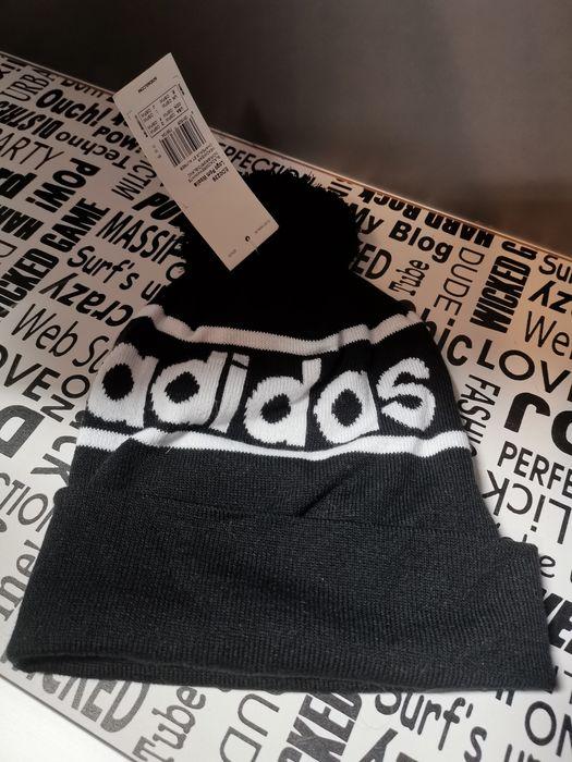 Adidas czapka Logo Pom Woolie Dzierżoniów - image 1