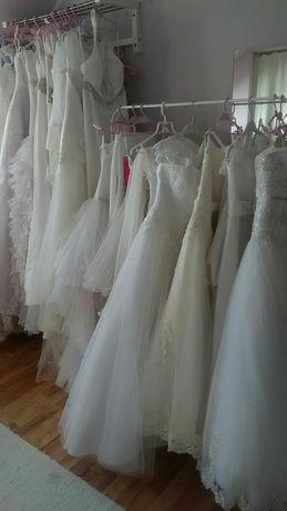 Suknie ślubne 40,42,44,46,48
