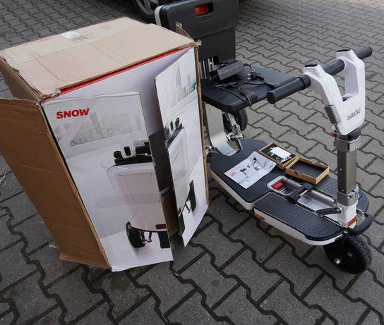 Skuter inwalidzki elektryczny składany wózek SNOW
