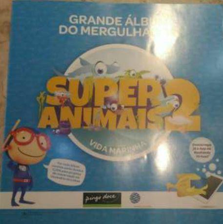 Cadernetas pingo doce Super Animais 2 e 3