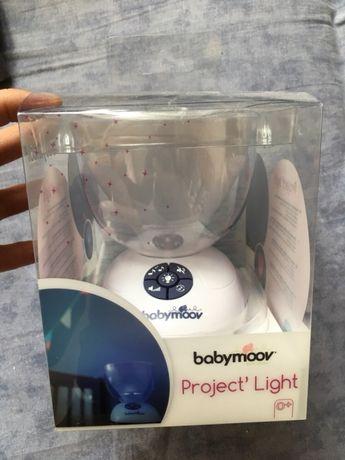Do sprzedania rewelacyjna lampka z wyświetlaczem babmoove projectLight