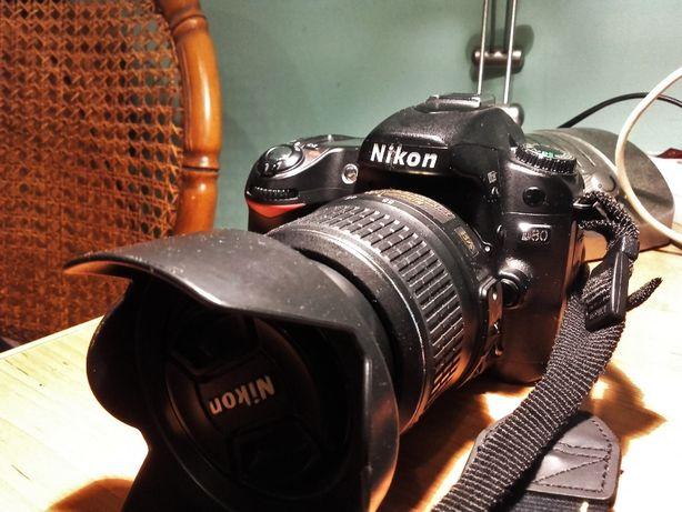 Nikon D80 +18-55 AF-S DX stan jak nowy