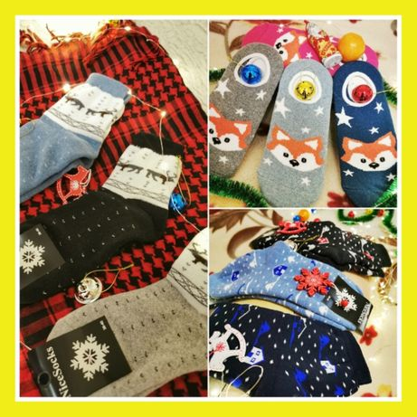Женские носки носочки, наборы ,идеальный подарок на любой праздники!