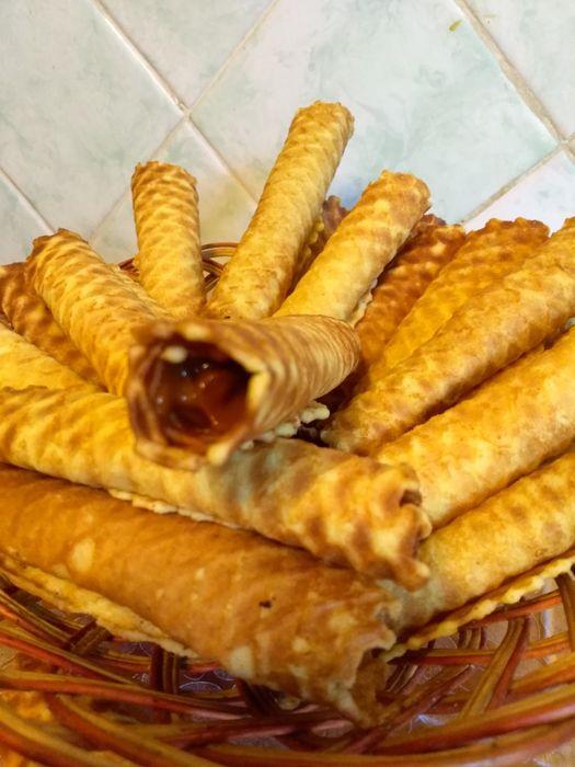 Трубочки зі згущонкою ( печиво ) трубочки со сгущонкой ( печенье)