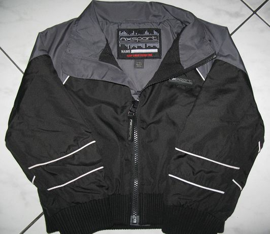 NEXT chłopięca kurtka wiatrówka czarna r.98