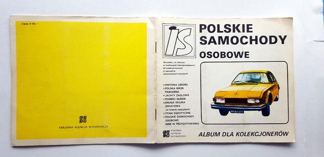 Polskie Samochody Osobowe Album dla Kolekcjonerów IS #35