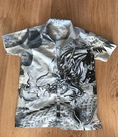 Koszula chłopięca r. 140