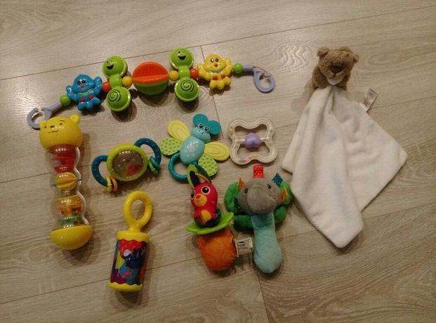 Zabawki dla dziecka grzechotka tuliś całość