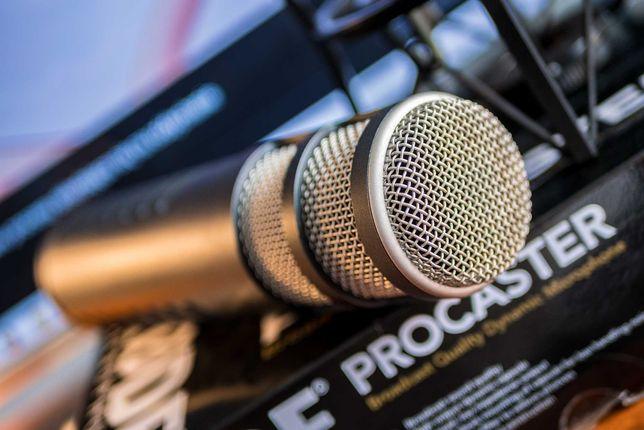 Mikrofon dynamiczny RODE PROCASTER + uchwyt PSM1 + kabel XLR + POP