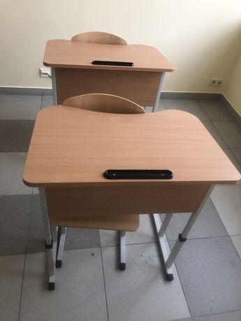 Шкільна парта з стільцем нові (комплект)