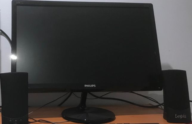 Monitor Philips 227E qha IPS LED * Komputer * Stacjonarny * Laptop