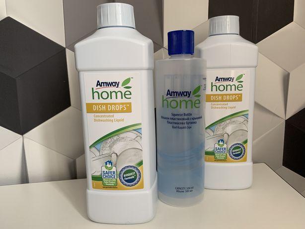 Концентрированная жидкость для мытья посуды DISH DROPS Amwey. Амвей