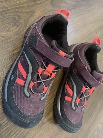 Buty turystyczne dziewczęce Quechua Crossrock 34r