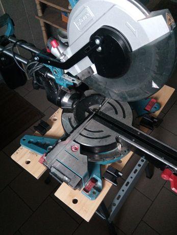 250 piła ukośnica ze stolikiem składanym erbauer 254mm laser posuw