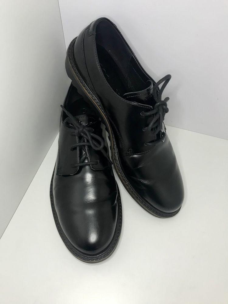 Туфлі-черевики-броги жіночі бренд Ecco. Оригінал .*
