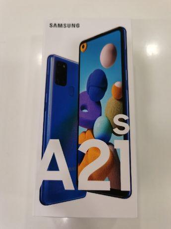 NOWY Telefon Samsung A21s 32GB Niebieski Teletorium Renoma Wrocław