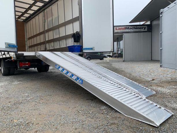 Rampas em alumínio 3m para carregar até 4.4 ton