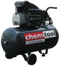 Compressor ar CHEMITOOL 50 litros - 2HP - 253 l/m