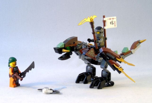 "Lego Ninjago/Ниндзяго ""Дракон Коула"" 70599 (оригинал)"