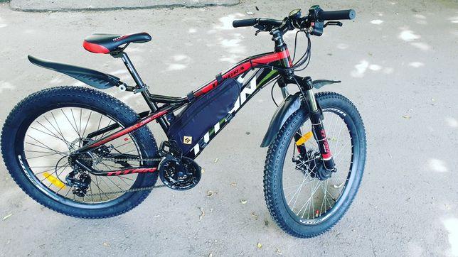 Электровелосипед собранный на базе Titan tundra 26x3.0 mxus 350w
